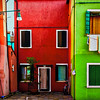Colourful Houses in Burano, Venice, Italy