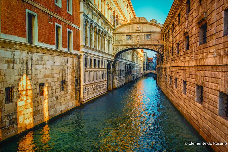 Bridge of Sighs,Venice, Italy