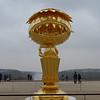 Oval Buddha by Takashi Murakami