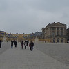 A cold and gray day at Versailles