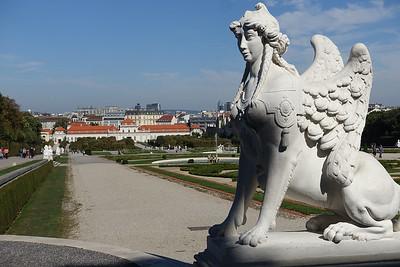 Belvedere Gardens looking toward Lower Belvedere Palace
