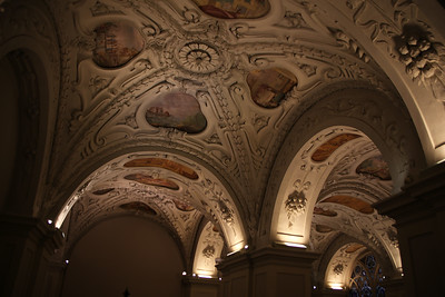 Vaulted ceilings in the Klosterneuburg Abbey