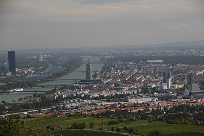 Vienna and the Danube - Taken from Kahlenberg.