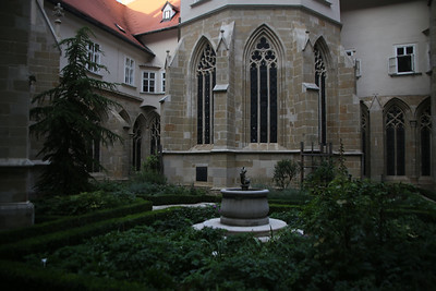Courtyard in the Klosterneuburg Abbey