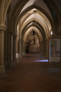 Hallways in the Klosterneuburg Abbey