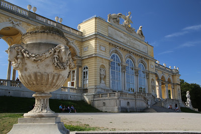 The Gloriette at Schonbrunn Palace
