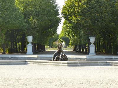 The gardens at Schonbrunn Palace