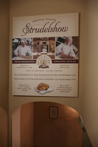 The Strudel Show at Schonbrunn Palace