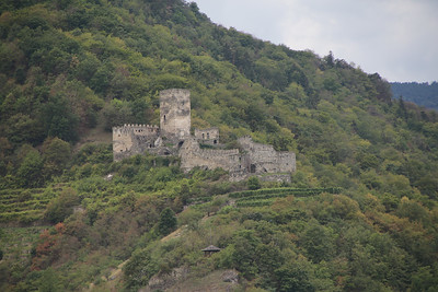 The ruins of Hinterhaus Castle