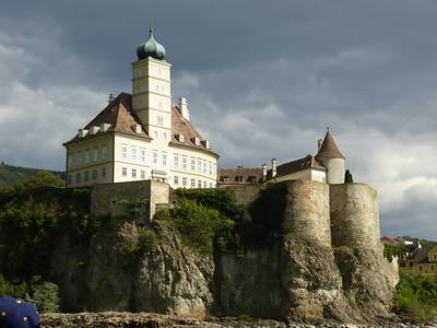Schloss Schönbühel, a private castle on the Danube