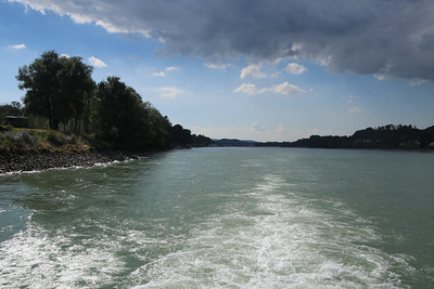 Cruising down the Danube River