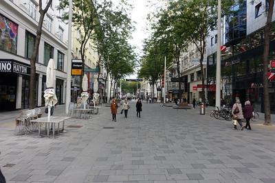 Mariahilferstrasse - Mariahilferstrasse is Vienna's pedestrianized main shopping street.