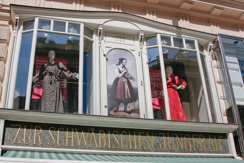 Clothing store on Grabenstr