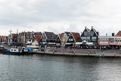Arriving In Volendam
