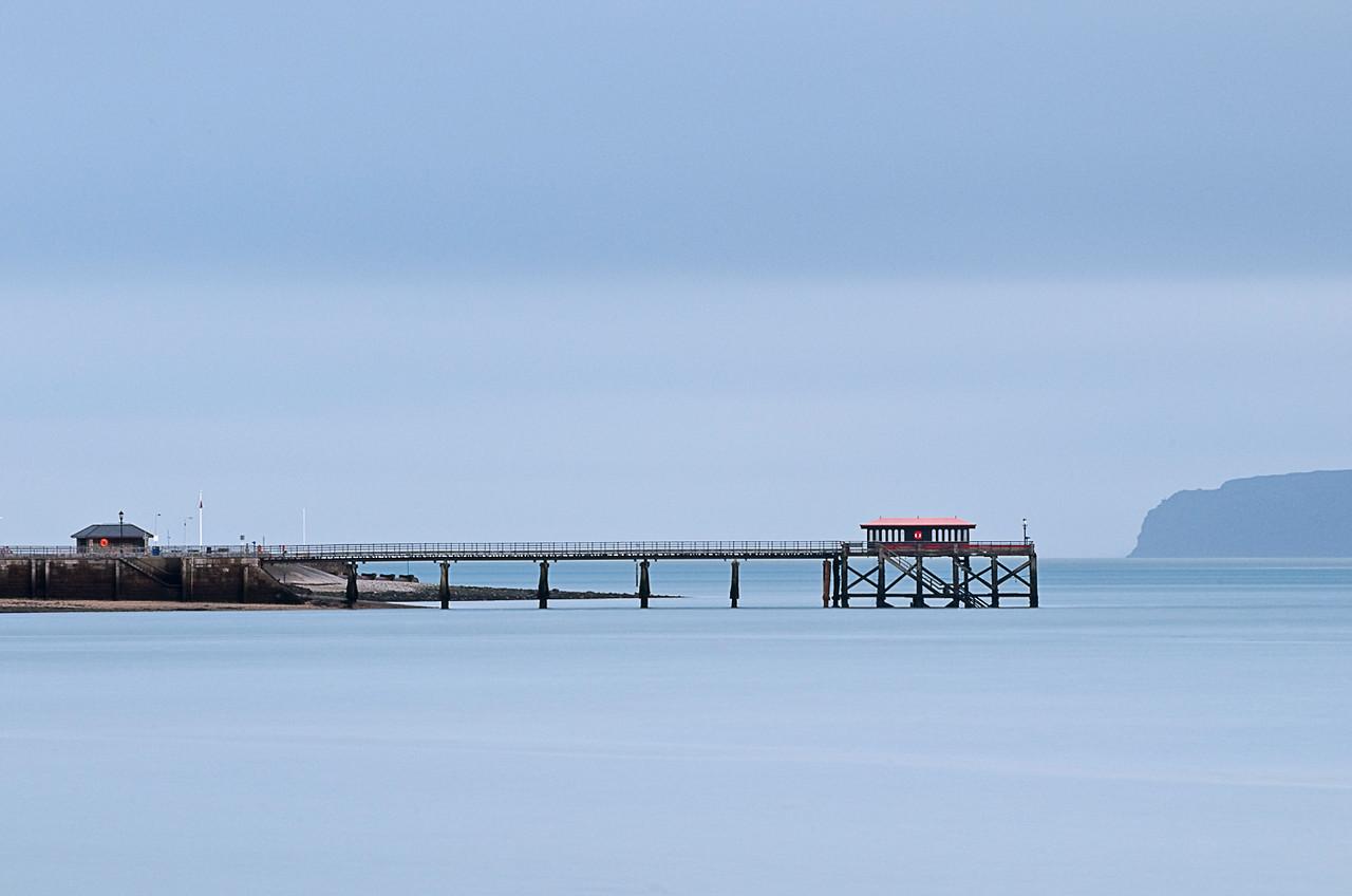 View towards Beaumaris Pier