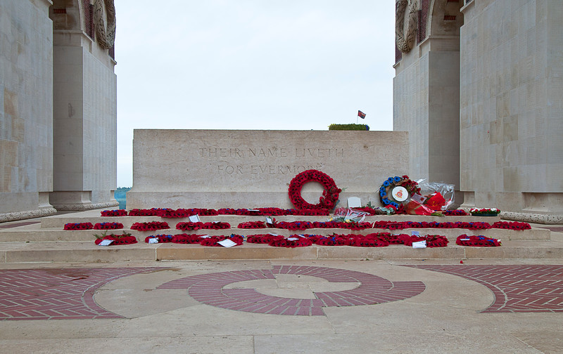 Thiepval is the largest British memorial to MIAs in the world.<br /> <br /> Among them is the author known as Saki (H H Munro), a collection of whose stories my sister gave me for Christmas earlier this century. You probably read The Open Window in English class.