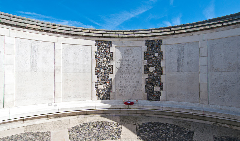 It is also where the other 35,000 unfound dead who could not be fitted in the Menin Gate are memorialized.<br /> <br /> There were on;y 40,000 people of all ages and genders in the town where I grew up. My senior year in college, that was Ohio State's enrollment. It has struck me that you would have to wipe out both populations to total just the unfound from just this battle.