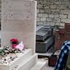 Grave of Jean-Paul Sartre and Simone de Beauvoir, Montparnasse Cemetery, Paris