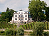 Vineyard House on the Rhine, Germany.