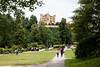 Walk to Hohenschwangau Castle, Fussen Germany