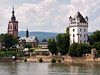 Church & Tower on the Rhine, Germany.