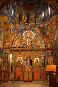 Inside Ancient Greek Monastery in Cypress