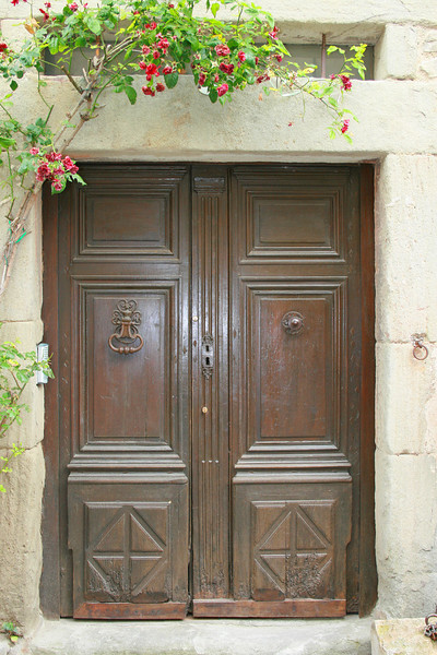 French Doorway - Carcassonne, France