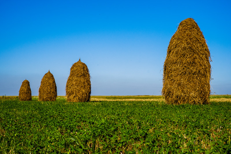Ukraine Haystacks