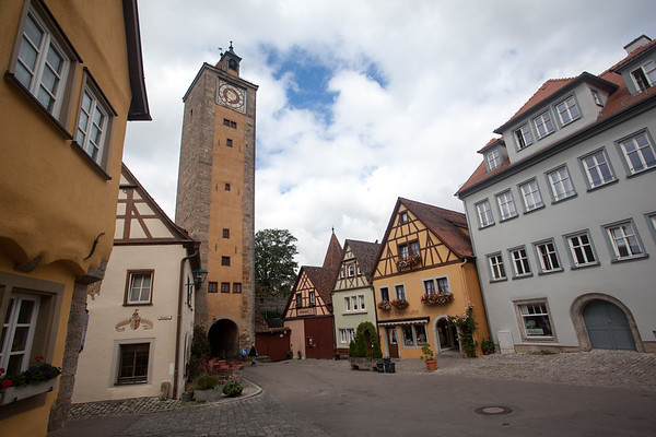 Cobbled Streets, Rothenburg Germany