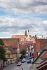 View from the Wall, Rothenburg Germany