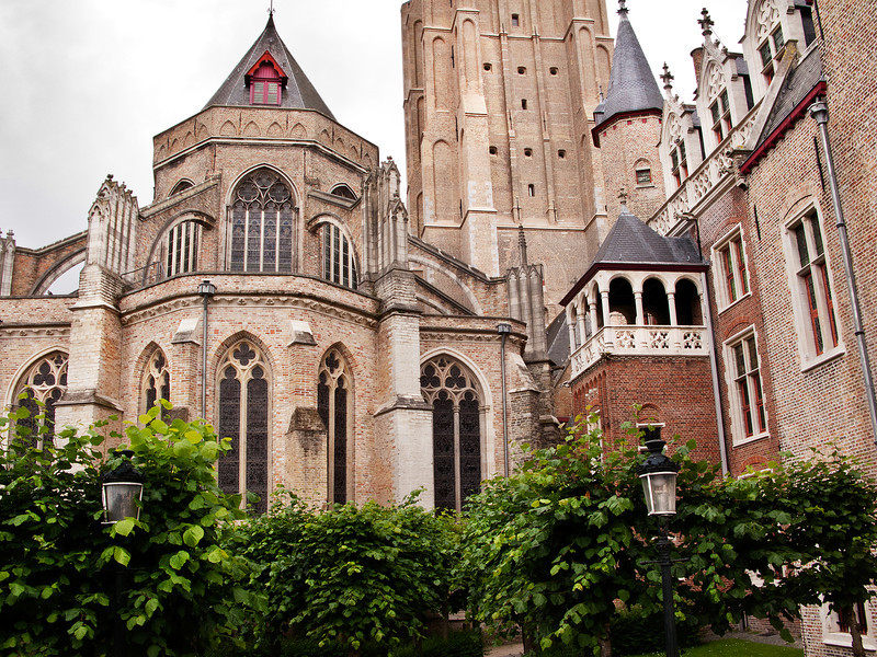 Bruges Church 2, Belgium.