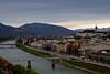 Bridges over Salzach River, Salzburg Austria