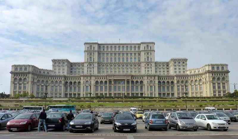 Parliament Building, Bucharest, Romania