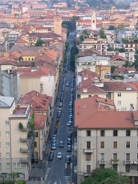 Città bassa Burgamo Italy