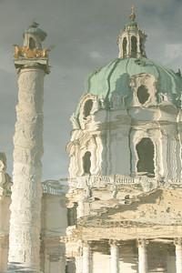 Karlskirche. Vienna, Austria.