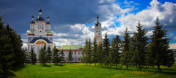 Old Monestary Outside of Penza, Russia