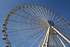 Ferris wheel at one end of the Cannstatter Volksfest, Stuttgart Germany