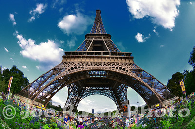 The Eiffel Tower Paris, France