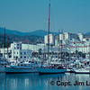 The Harbor - Estepona Spain on the Costa del Sol - Taken with a Nikon EL with a 75-150 Nikkor Zoom Lens - Kodachrome 64 ASA film - scanned with a Plustek OpticFilm 7200 slide