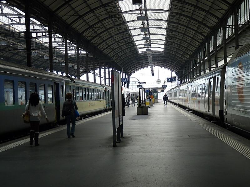 Train Station Lucerne