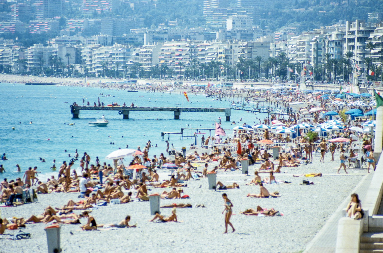 Nice (French Riviera), France - August 1985