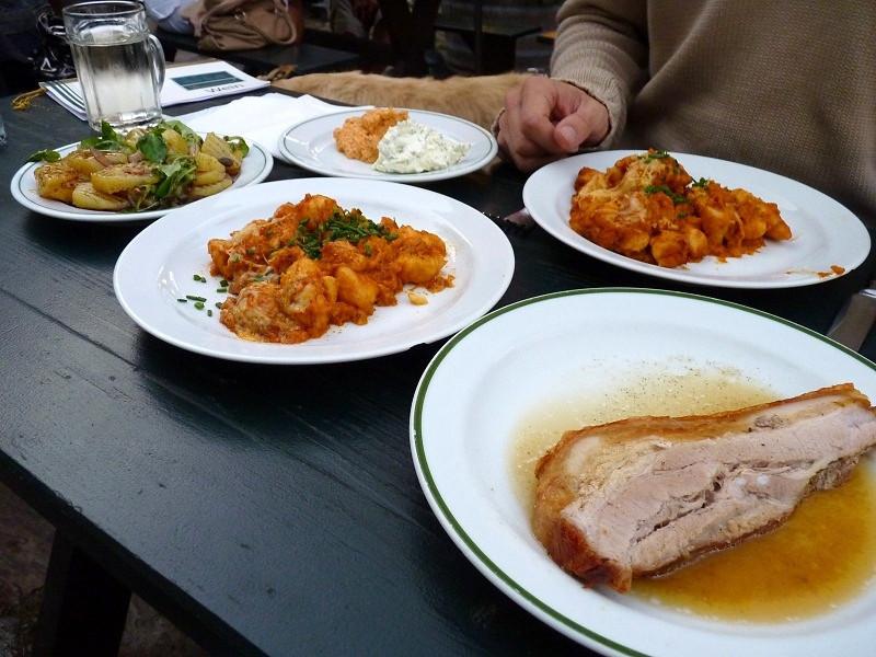 Dinner at Heuriger Wieninger