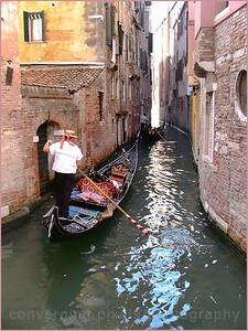 """Venice, Italy #4"" The classical Venetian gondola."