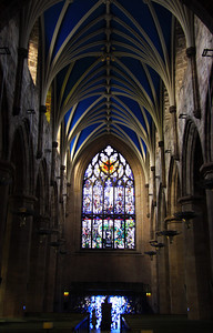 Inside of St. Giles - Scotland