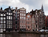 Amsterdam Houses on Canal, Netherlands.