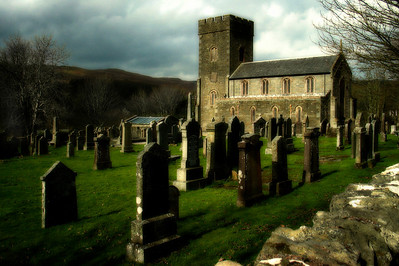Welsh Church and Graveyard