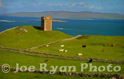 Martello Tower at Crohy Head, County Donegal, Ireland