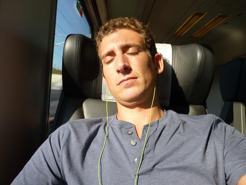 Sleeping on a Train