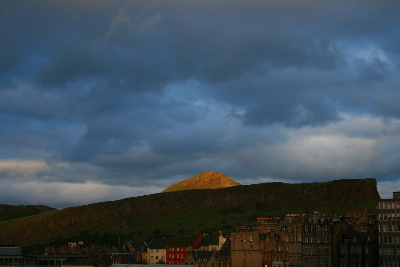Scotland's Edinburgh Crag