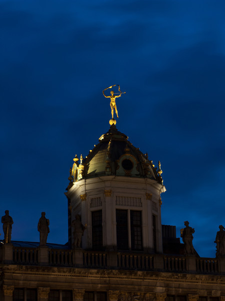 Night Shot, Grand Place Brussels 1, Belgium.